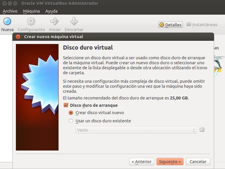 Crear máquina virtual paso 4